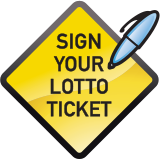 Sign your lotto ticket